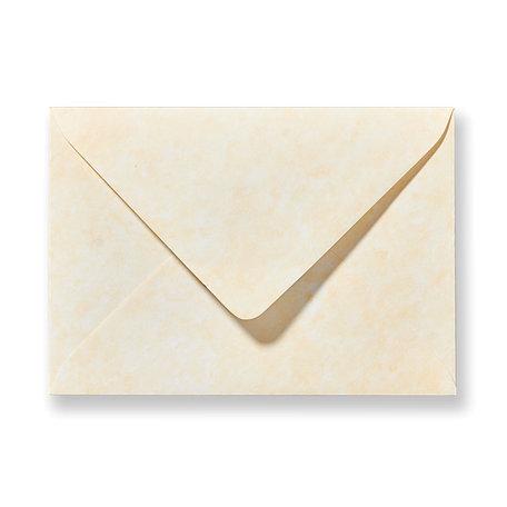 Envelop 12 x 18 cm Marmer Geel