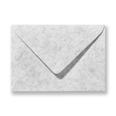 Envelop 12 x 18 cm Marmer Grijs