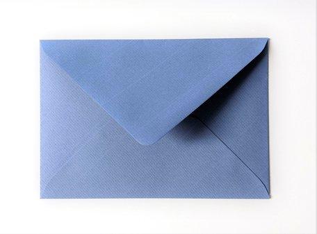 Envelop 11 x 15,6 cm Kraft blauw