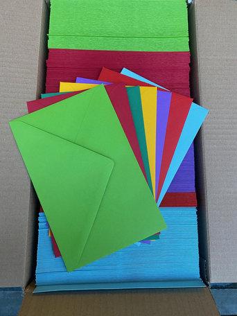 Doos vol met Enveloppen 12 x 18 cm 500 stuks