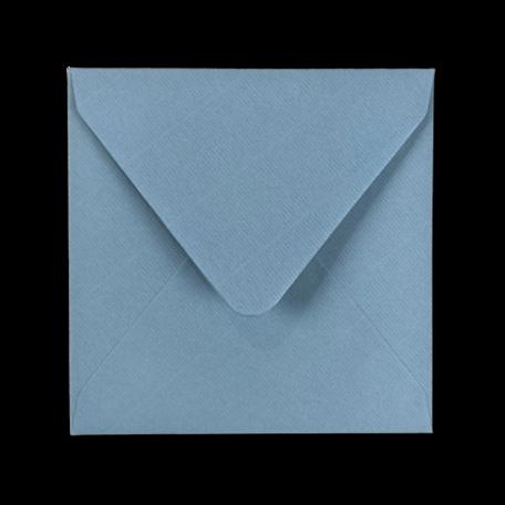 Envelop 14 x 14 cm Kraft Zeeblauw