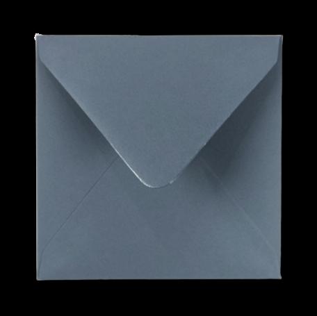 Envelop 14 x 14 cm Staalblauw