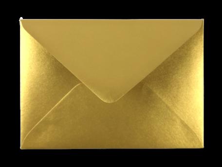 Envelop 11 x 15,6 cm Metallic Gold