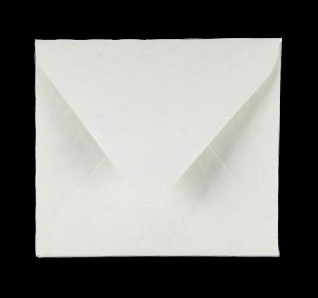 Envelop 12,5 x 14 cm Marmer Wit