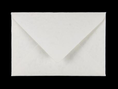 Envelop 12 x 18 cm Marmer Wit
