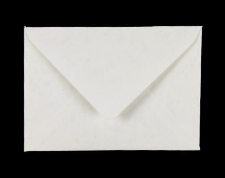 Envelop 11 x 15.6 cm Marmer Wit