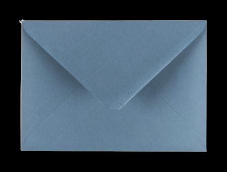 Envelop 11 x 15,6 cm Kraft blauwgrijs