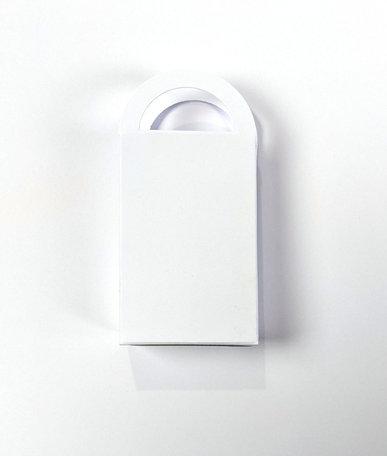 Geschenktasje Wit per 8 stuks