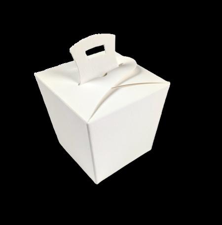 Wok box Boomschors Gebroken Wit per 3 stuks