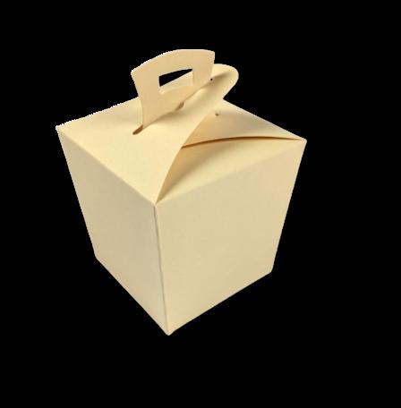 Wok box Abrikoos per 3 stuks