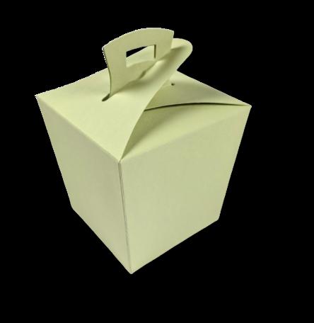 Wok box Lichtgroen per 3 stuks