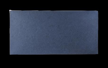 Ongerilde Kaart 13,5 x 27 cm Donkerblauw per 500 stuks