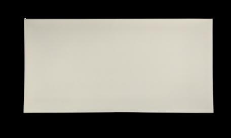 Ongerilde Kaart 13,5 x 27 cm Ivoor per 500 stuks