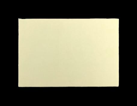 Enkele kaart 9,2 x 13,5 cm Oud Hollands Ivoor per 25 stuks