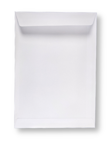 Akte Envelop 18,5 x 26,2 cm Wit per 250 stuks