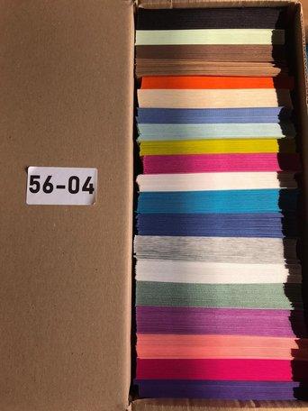 Doos vol met Enveloppen 14 x 14 cm