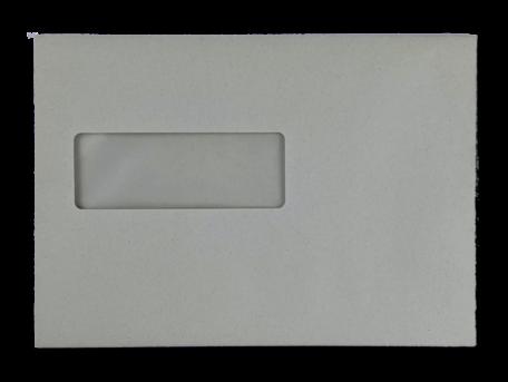 Vensterenvelop C5 16,2 x 22,9 cm Grijs