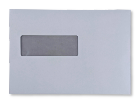 Vensterenvelop C5 16,2 x 22,9 cm Wit