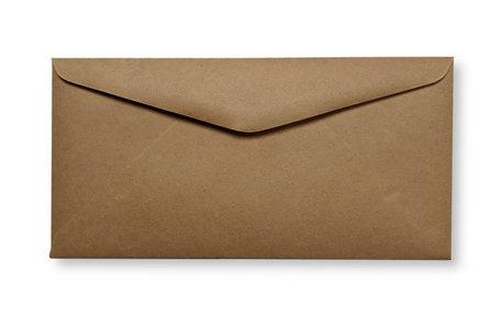 Envelop 11 x  22 cm Kraft Donkerbruin
