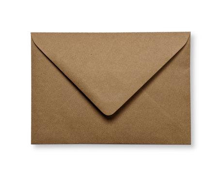 Envelop 12 x 18 cm Kraft Donkerbruin