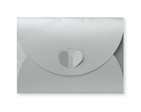 Cadeau Envelop 11 x 15,6 cm Metallic Zilver