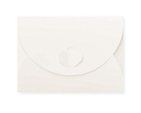 Cadeau Envelop 8 x 11,4 cm Gebroken wit