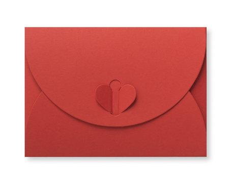Cadeau Envelop 8 x 11,4 cm Koraalrood