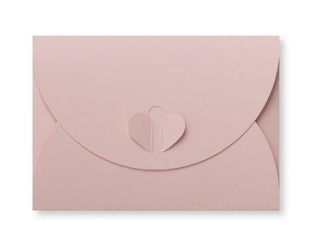 Cadeau Envelop 8 x 11,4 cm Lichtroze