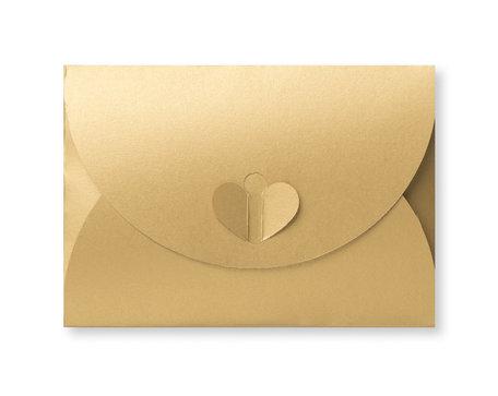 Cadeau Envelop 8 x 11,4 cm Metallic Goud