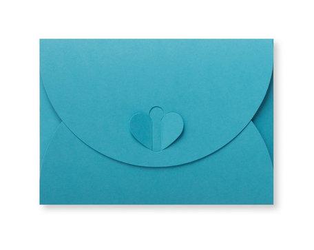 Cadeau Envelop 8 x 11,4 cm Oceaanblauw