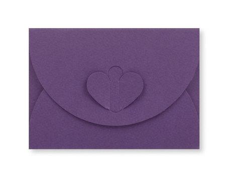 Cadeau Envelop 8 x 11,4 cm Paars
