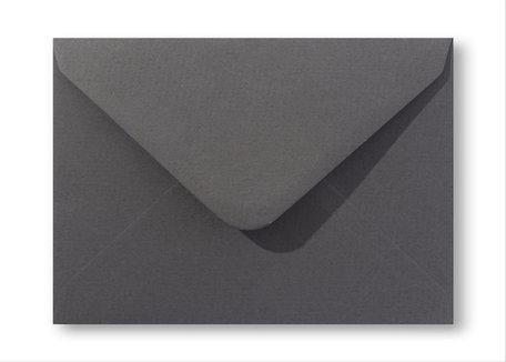 Envelop 11 x 15,6 cm Antraciet grijs