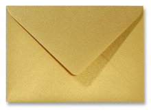 Envelop 11 x 15,6 cm Metallic Goud
