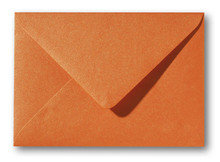 Envelop 11 x 15,6 cm Metallic Orange Glow