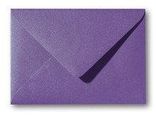 Envelop 11 x 15,6 cm Metallic Violet