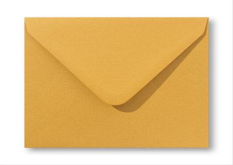 Envelop 11 x 15,6 cm Oker geel