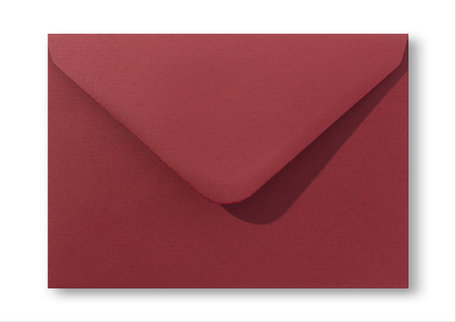 Envelop 11 x 15,6 cm Retro rood