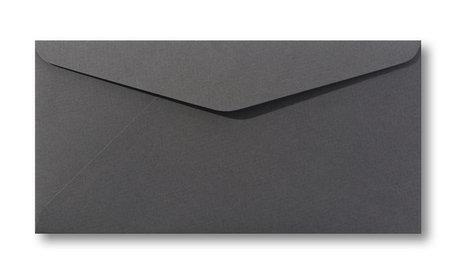 Envelop 11 x 22 cm Antraciet grijs