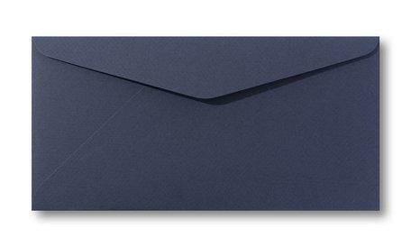 Envelop 11 x 22 cm Marine blauw