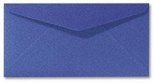 Envelop 11 x 22 cm Metallic Blue