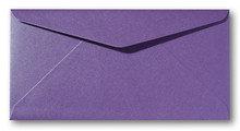 Envelop 11 x 22 cm Metallic Violet
