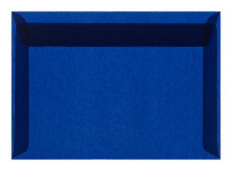 Envelop 11,4 x 16,2 cm transparant donkerblauw ( c6 )