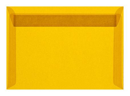 Envelop 11,4 x 16,2 cm transparant geel ( c6 )