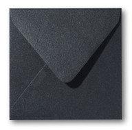 Envelop 12 x 12 cm Metallic Black