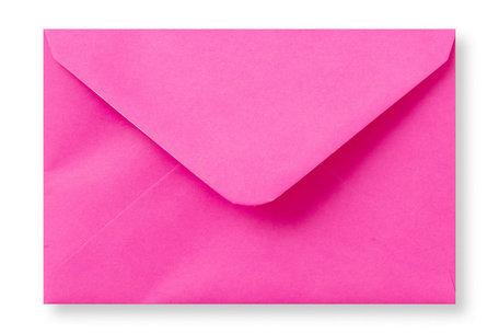 Envelop 12 x 18 cm Knalroze