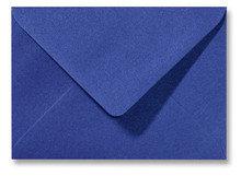 Envelop 12 x 18 cm Metallic Blue