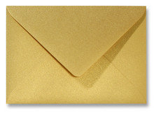 Envelop 12 x 18 cm Metallic Goud