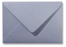 Envelop 12 x 18 cm Metallic Zilver