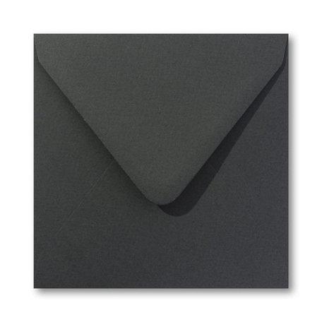 Envelop 12,5 x 14 cm Jager groen