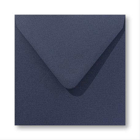 Envelop 12,5 x 14 cm Marine Blauw